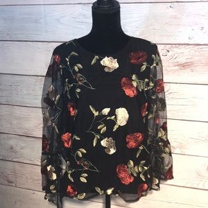 Dalia woman's floral blouse
